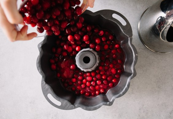 cranberry ice block: step 2