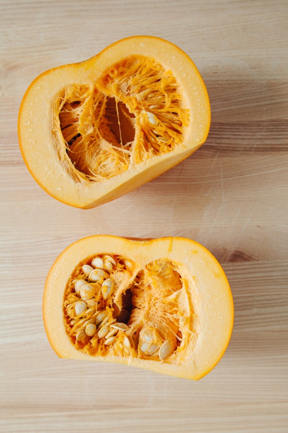 roasted pumpkin how to: step 3