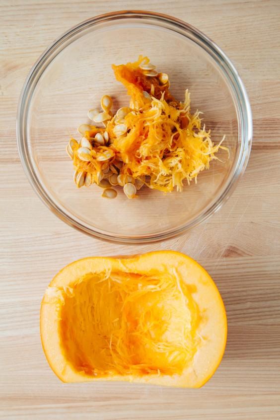 roasted pumpkin how to: step 4