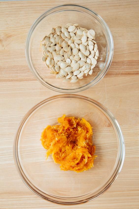 roasted pumpkin how to: step 5