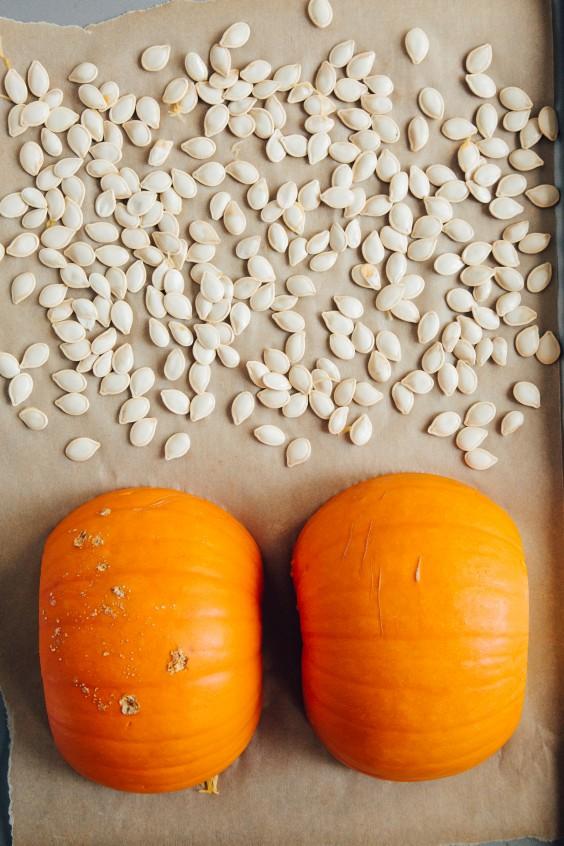 roasted pumpkin how to: step 6