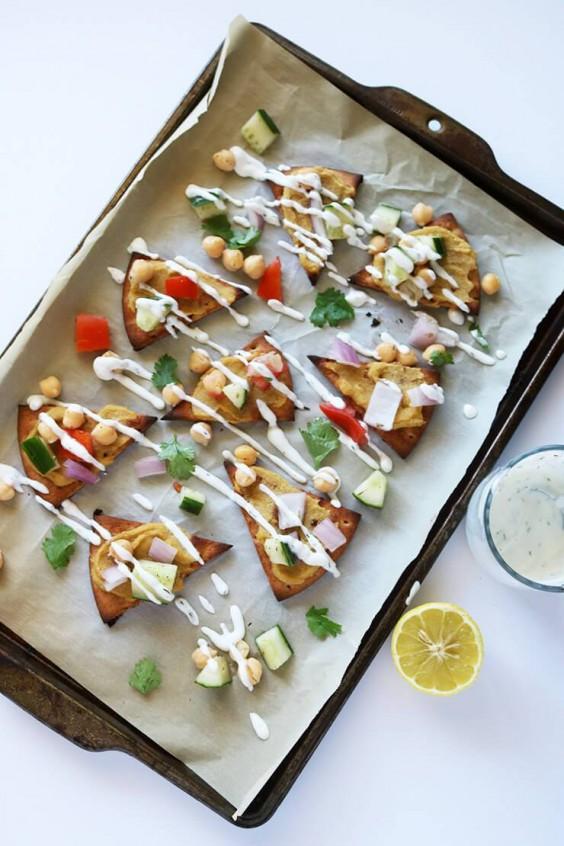 Falafel Nachos Recipe