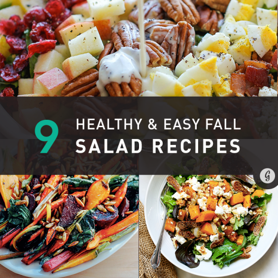 9 Healthy and Easy Fall Salad Recipes