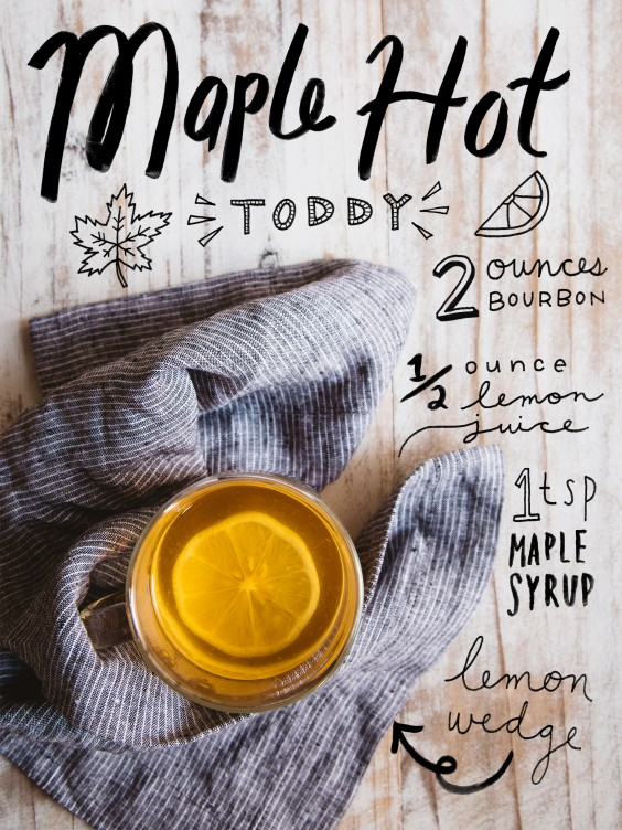 fall cocktail: Maple Hot Toddy