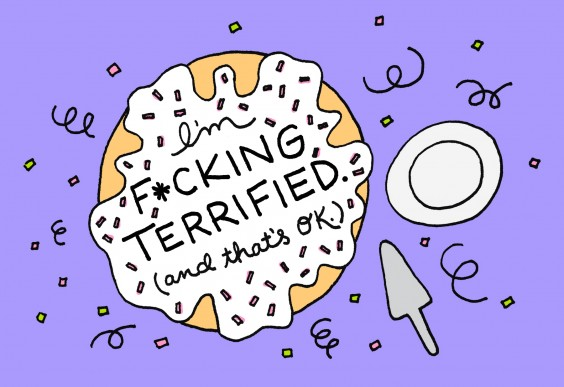 Life Accomplishments: Fcking Terrified