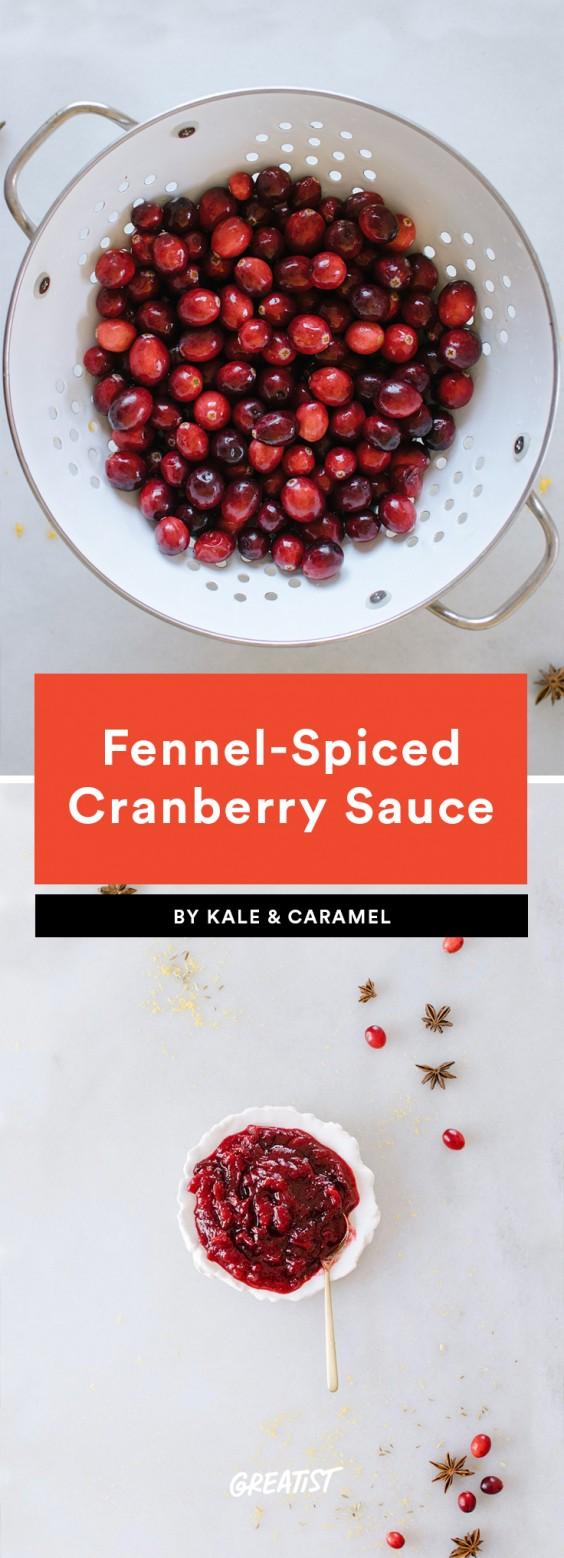 Fennel Cranberry Sauce
