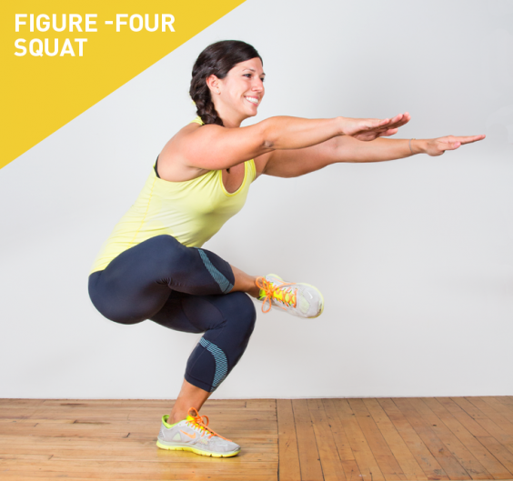 Figure-Four Squat