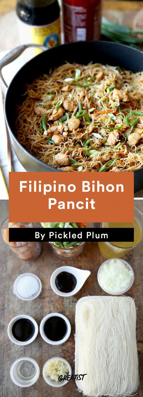 Pickled Plum: Bihon Pancit