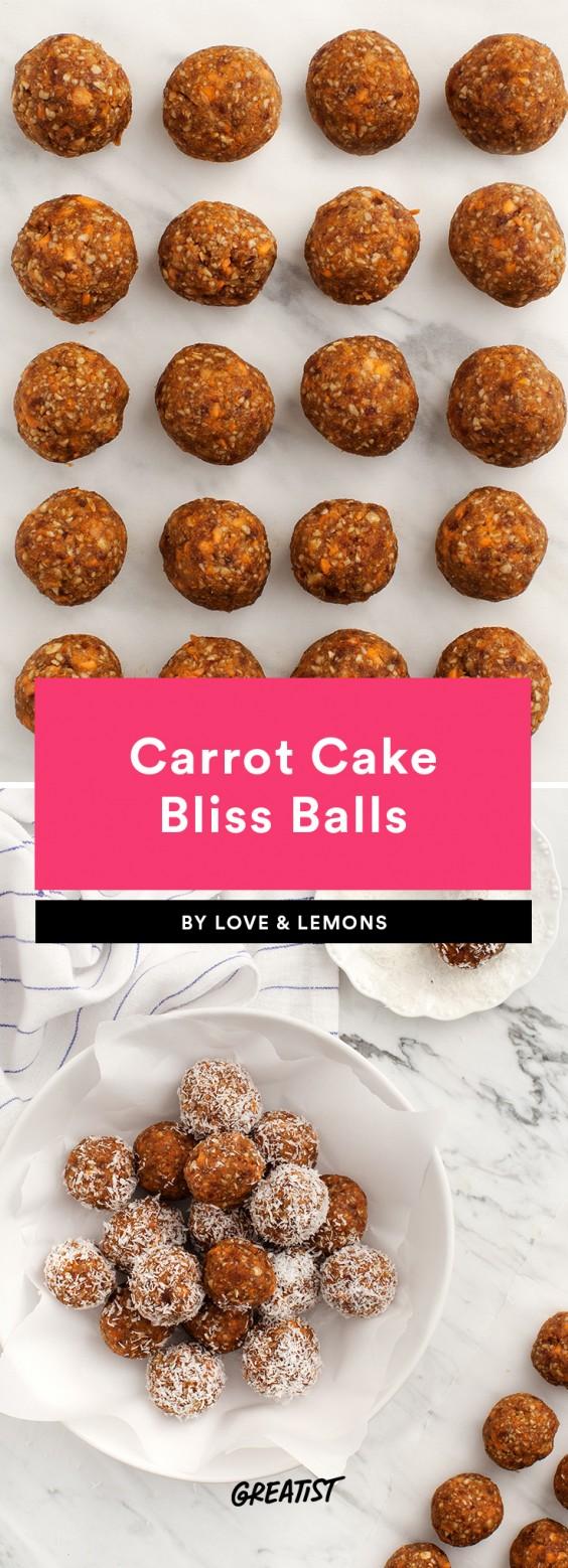 finger food: carrot balls