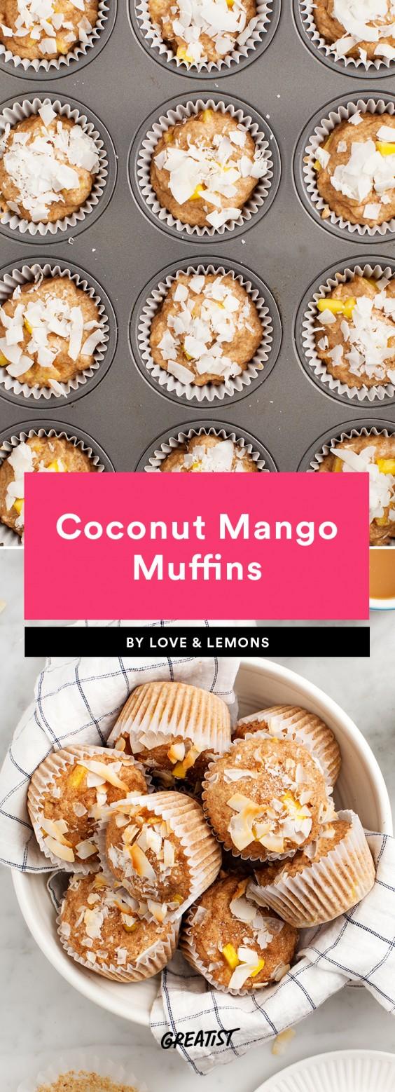 finger food: muffins