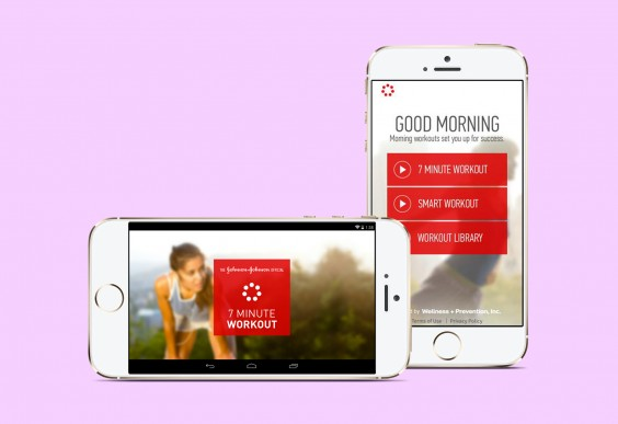 Johnson & Johnson The 7-Minute Workout App