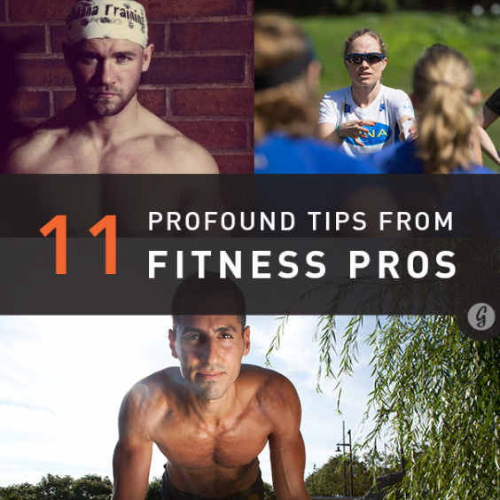 11 Fitness Tips from Top Trainers