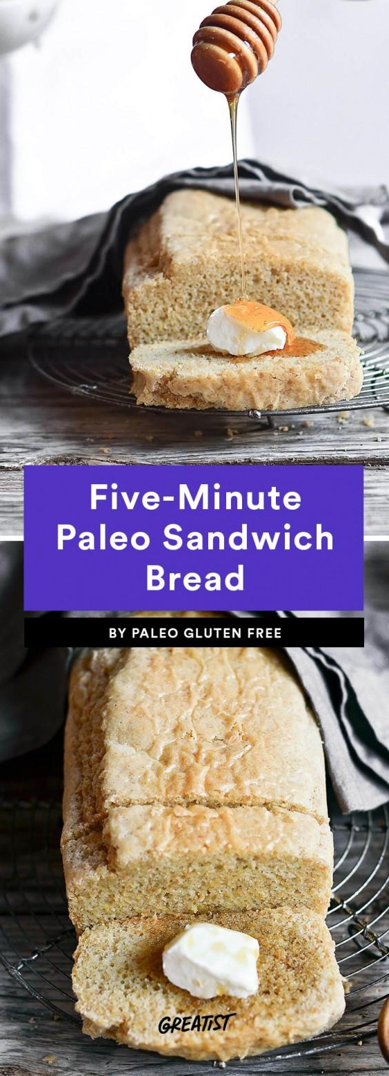 Five-Minute Paleo Bread