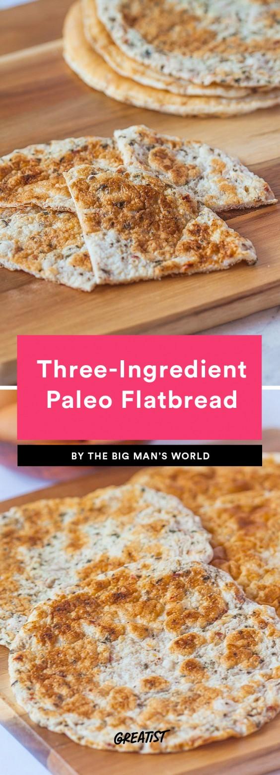Three-Ingredient Paleo Flatbread