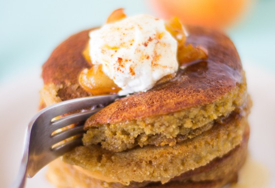 1. Flourless Apple Pie Pancakes