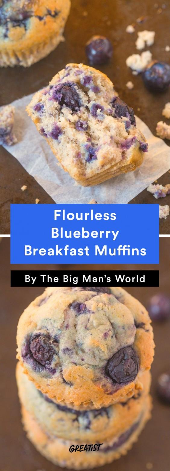 big mans world muffins: Blueberry