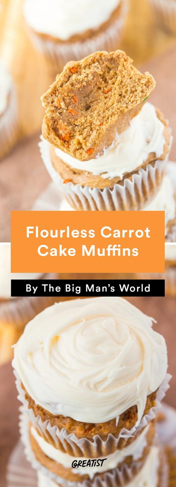 big mans world muffins: Carrot Cake