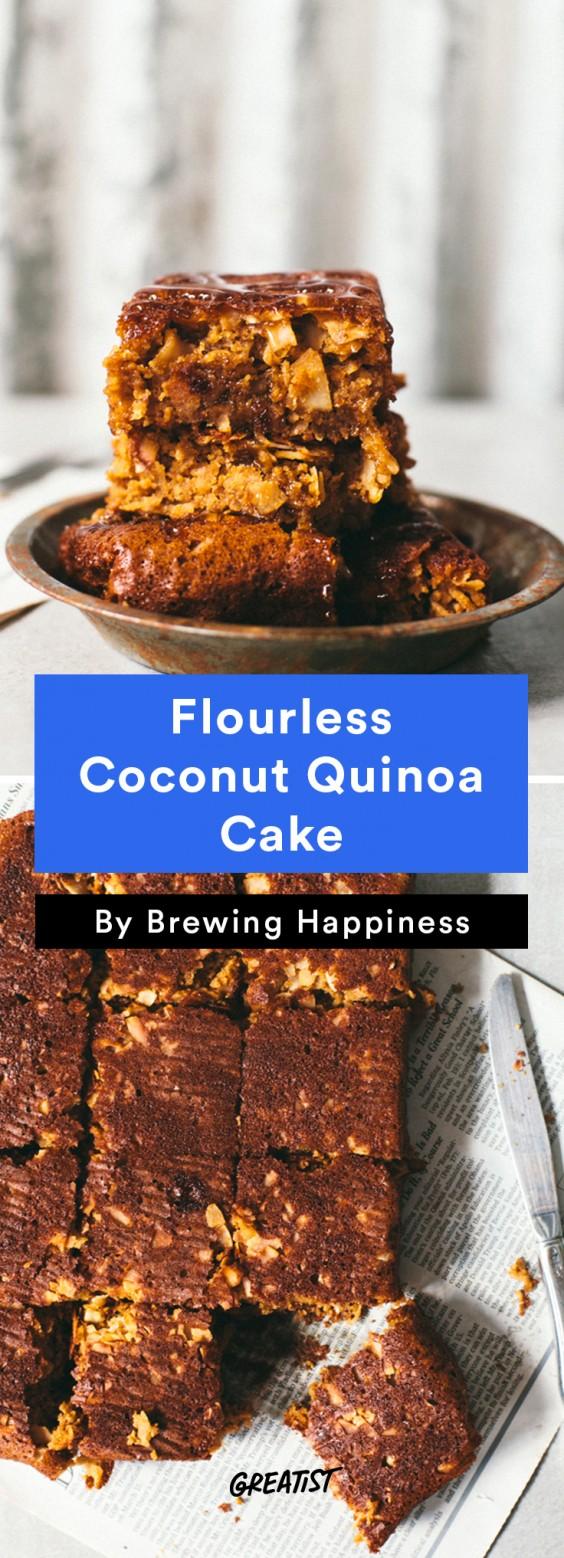 brewing happiness: Coconut Quinoa Cake