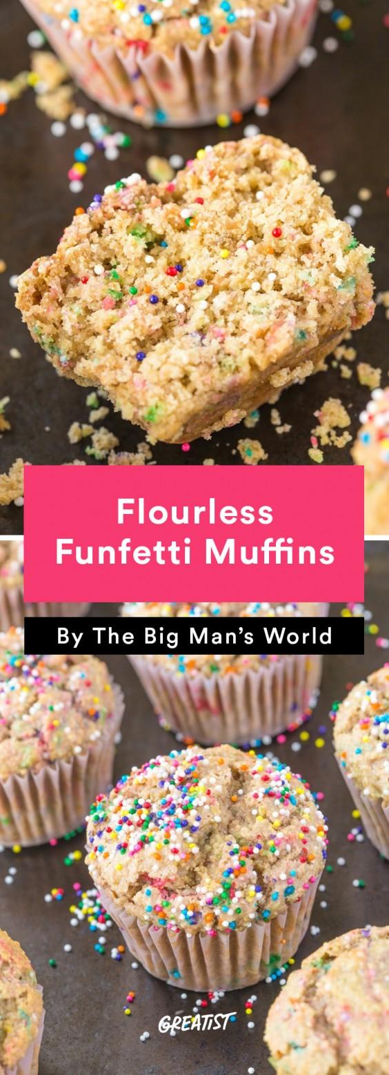 big mans world muffins: Funfetti