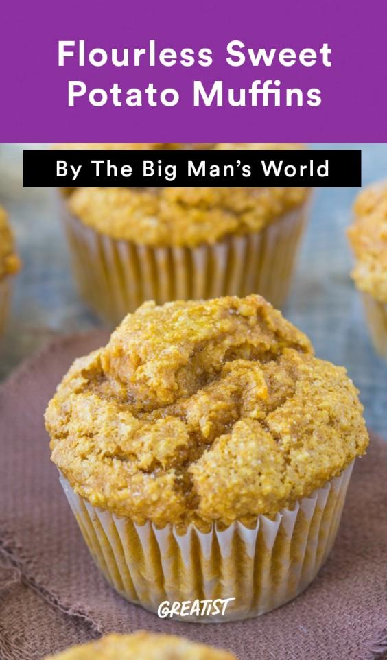 big mans world muffins: Sweet Potato