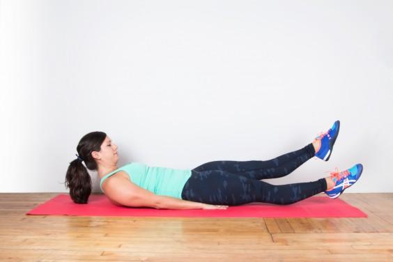 hip flexor ache while squatting