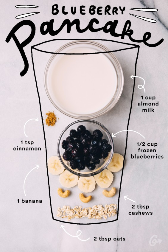 Blueberry Pancake Smoothie