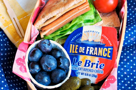 32 Healthy and Eye-Catching Bento Box Lunch Ideas: Mini French Picnic