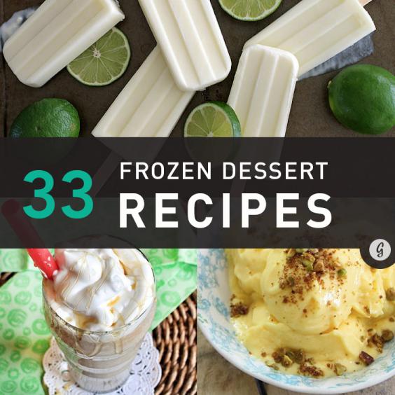 33 Frozen Dessert Recipes