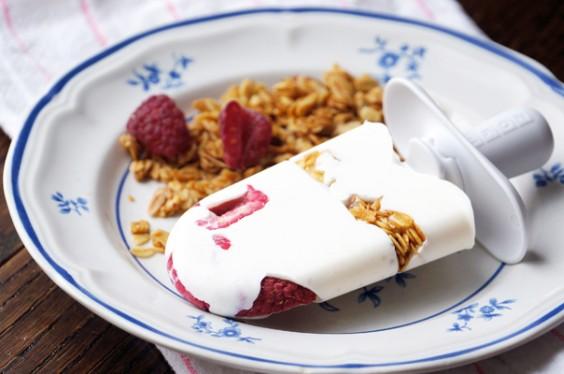 Frozen Yogurt-Berry Bar