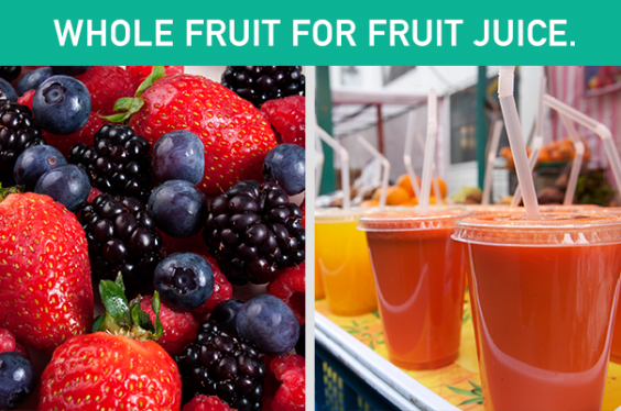 Whole Fruit for Fruit Juice