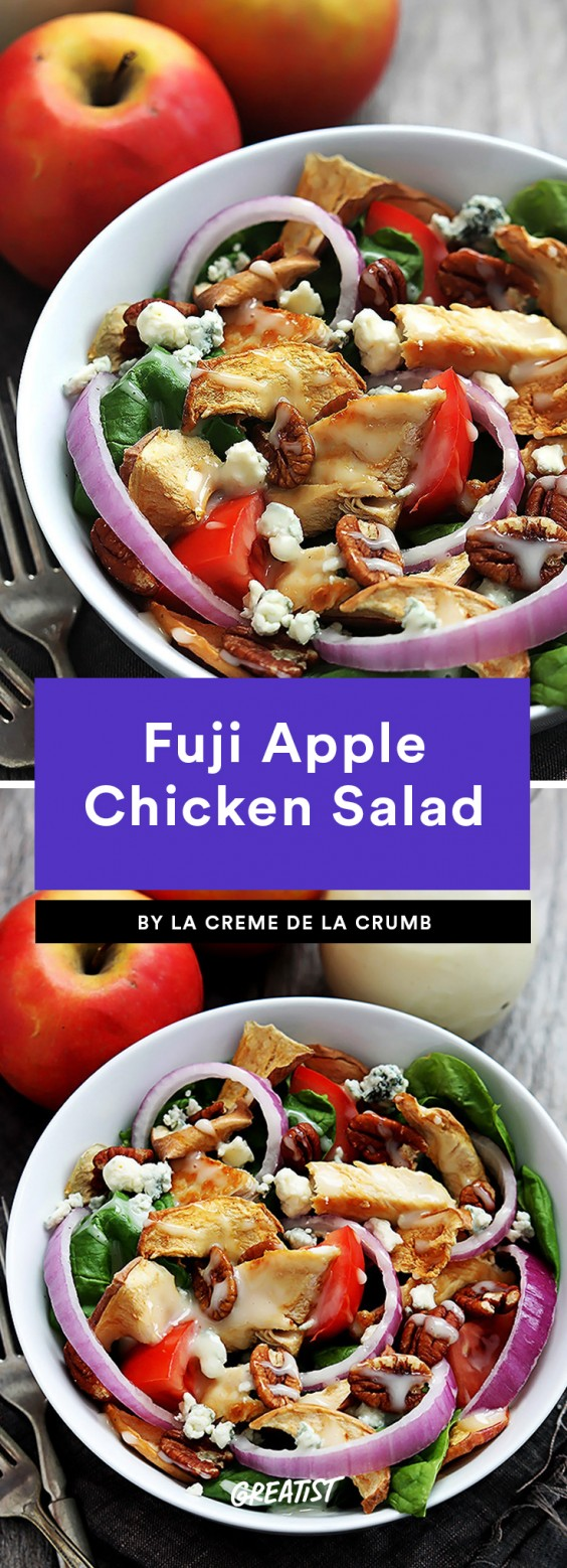 Fuji Apple Chicken Salad