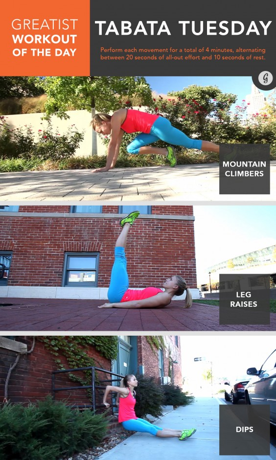 Greatist Workout of the Day: April 7th