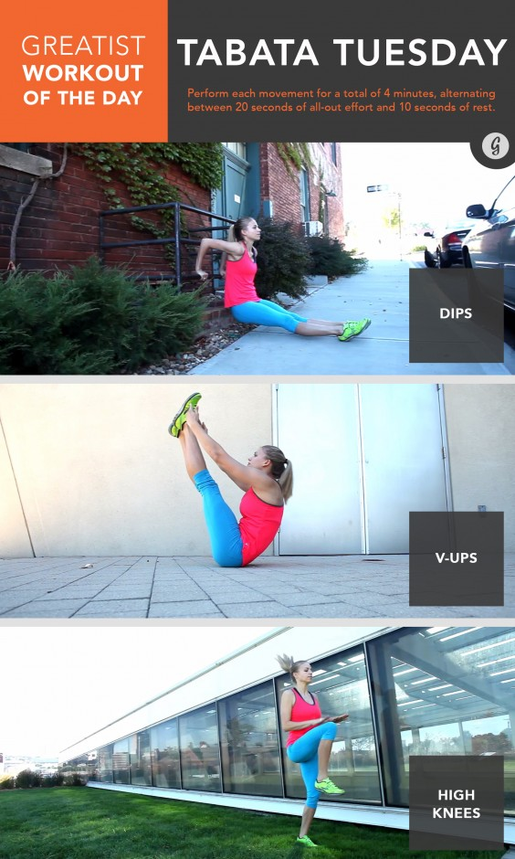 Greatist Workout of the Day: Tuesday, June 16th