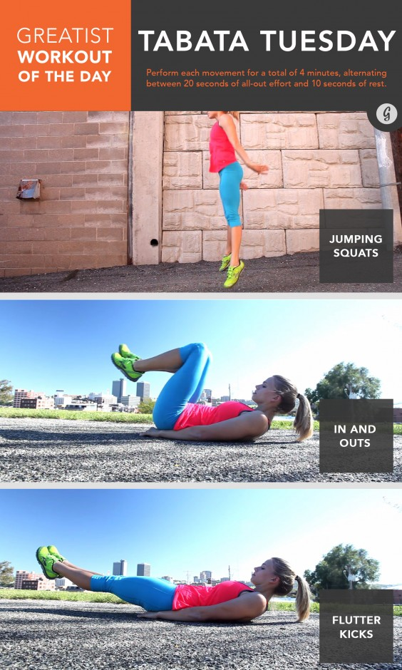 Greatist Workout of the Day: March 17