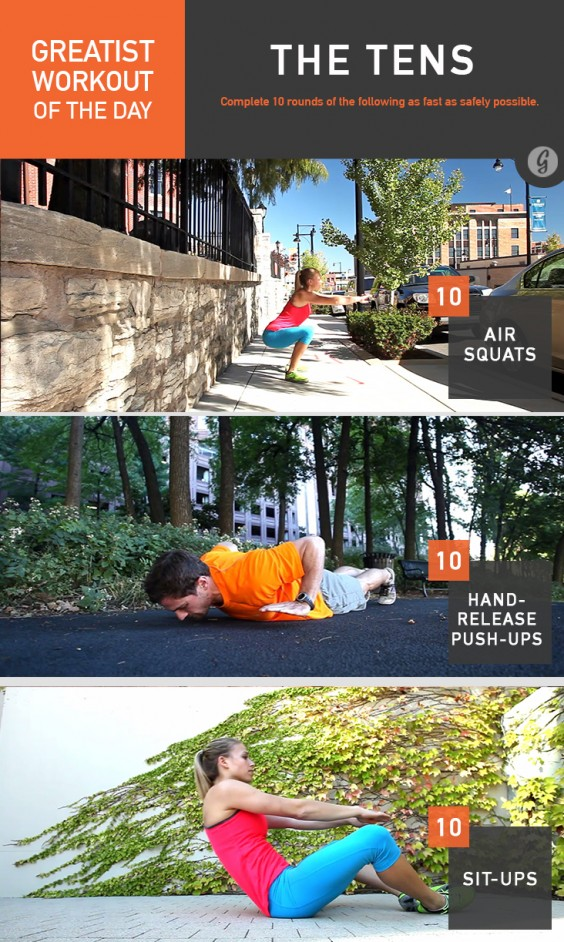 Greatist Workout of the Day: The Tens
