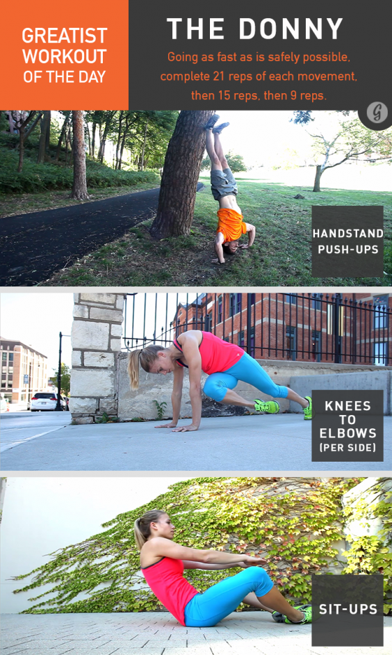 Greatist Workout of the Day: The Donny