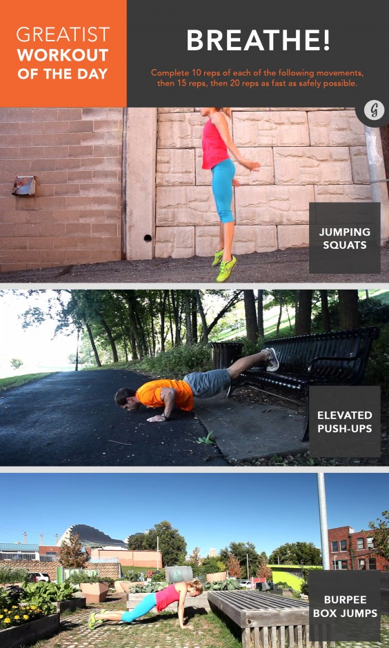 Greatist Workout of the Day: June 10