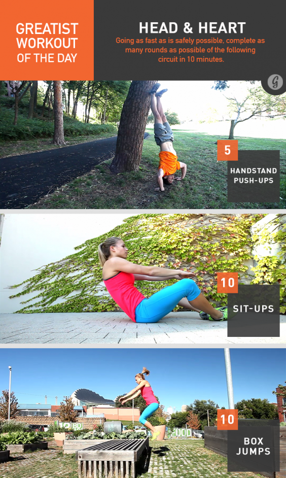 Greatist Workout of the Day: Head & Heart