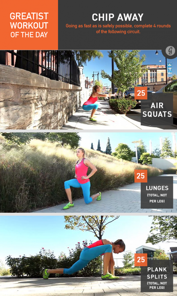 Greatist Workout of the Day: Monday, July 7th