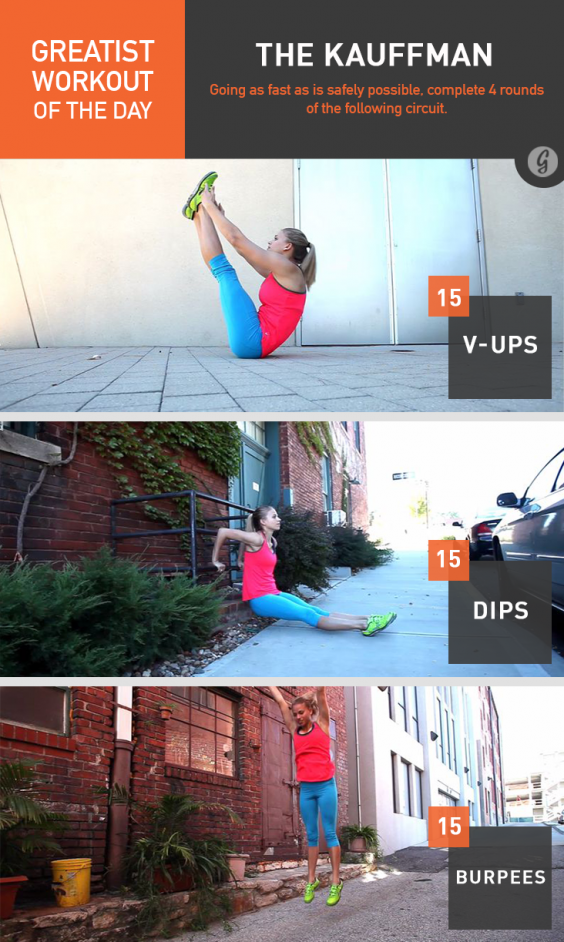 Greatist Workout of the Day: The Kauffman