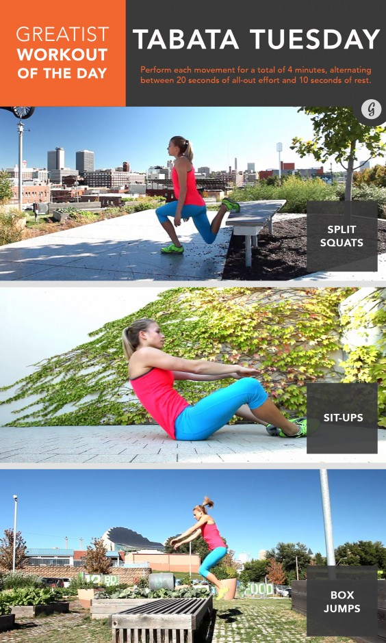 Greatist Workout of the Day: July 14th