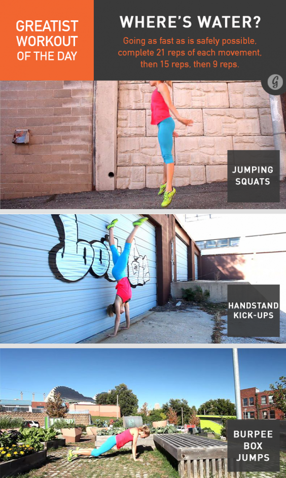 Greatist Workout of the Day: Wednesday, March 26th