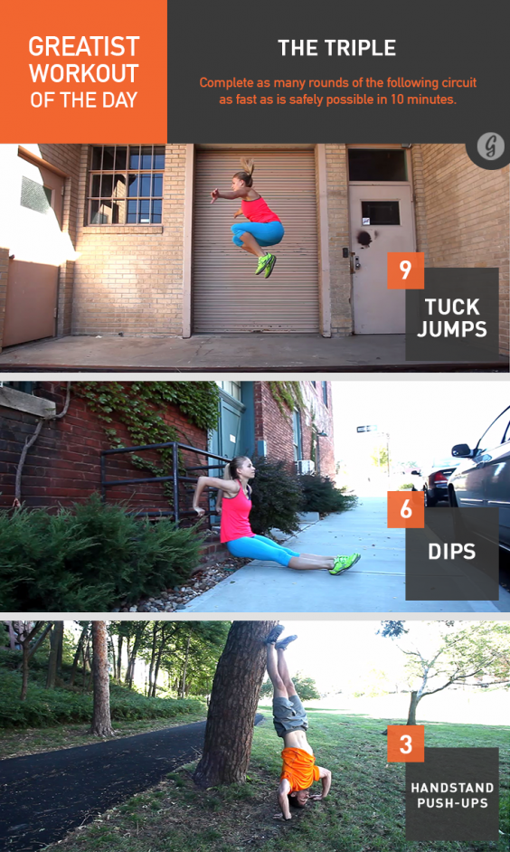 Greatist Workout of the Day: The Triple