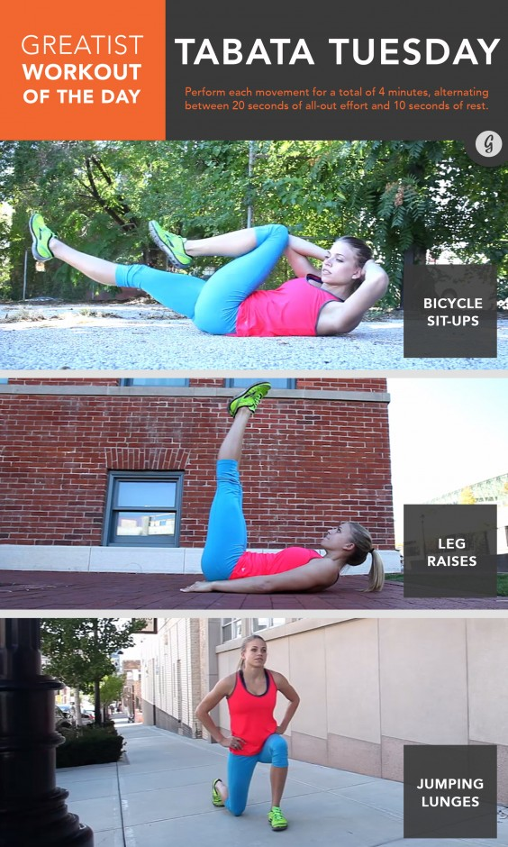 Greatist Workout of the Day: Tuesday August 11th