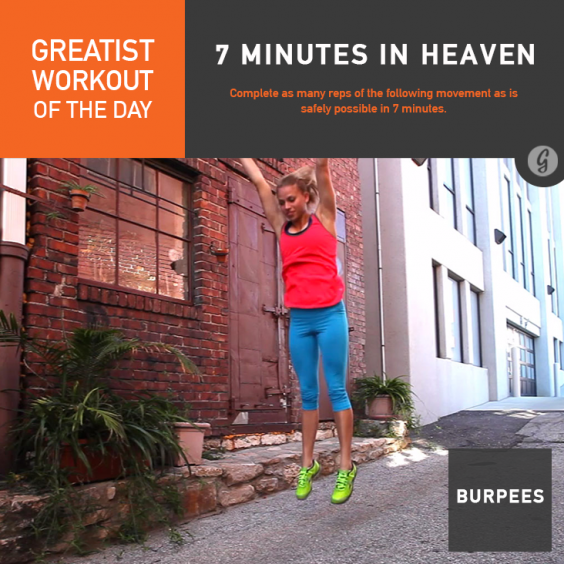 Greatist Workout of the Day: 7 Minutes in Heaven