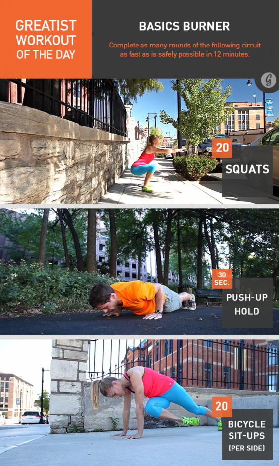 Greatist Workout of the Day: Wednesday, July 28th