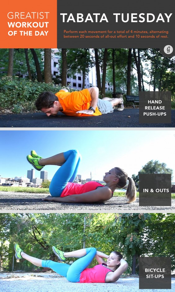 Greatist Workout of the Day: Tuesday, October 21st