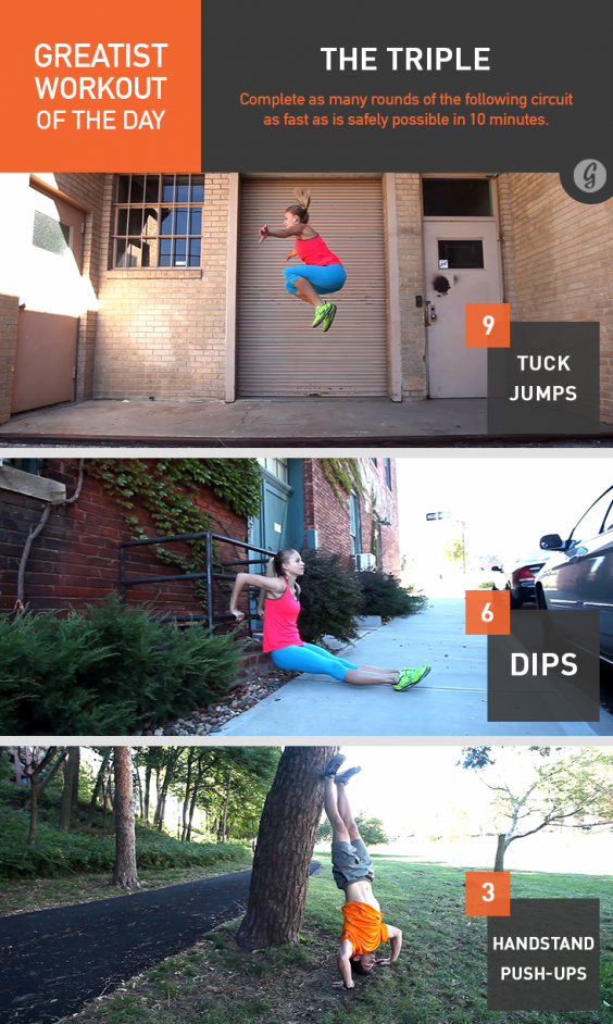 Watch Greatist Workout of the Day: Thursday, October 23rd video