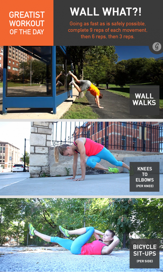 Greatist Workout of the Day: Wall What?!