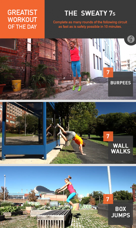 pics Greatist Workout of the Day: Thursday, October 23rd